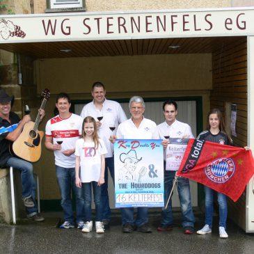 Fete, Fußball, Viertele: am 1. und 2. Juni Kelterfest der Weingärtnergenossenschaft Sternenfels