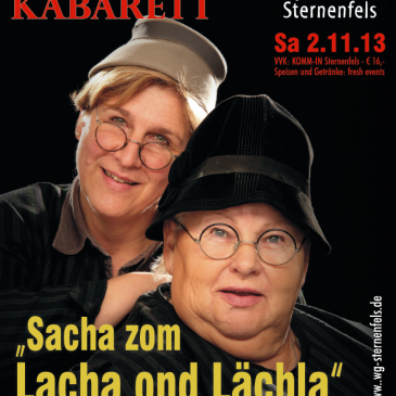 Jazz, Wein & Kabarett am 02.11.2013