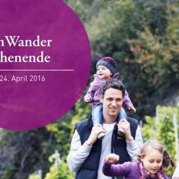 Bundesweites WeinWander Wochenende 2016