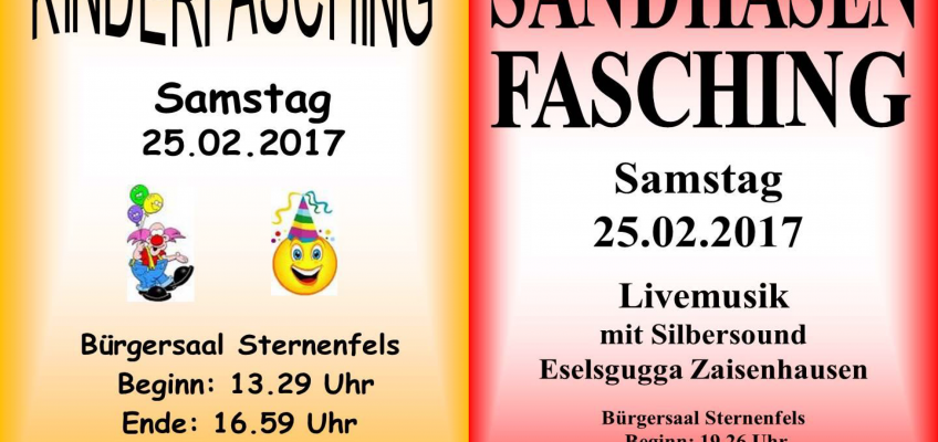 Fasching in Sternenfels am 25.02.2017