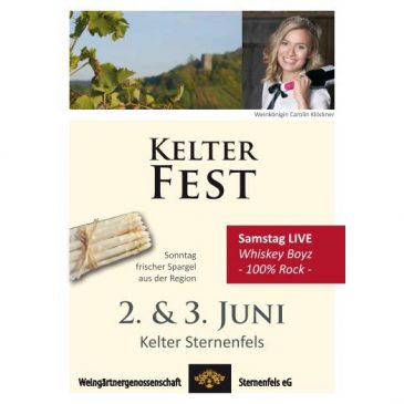 Kelterfest am 2. & 3 Juni 2018