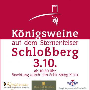 Königsweinprobe auf dem Schloßberg